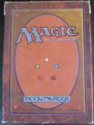 Empty Alpha Starter Deck Box With Rulebook Hp/damaged Magic Empty Packs And Boxes