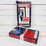 The Texas Chainsaw Massacre Betamax Tape Movie Cult Horror Wizard Video No. 034