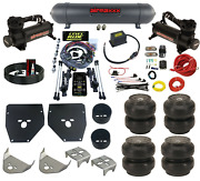 Complete 3 Preset Height Level Ride Air Suspension Kit 480 Black For 1973-87 C10