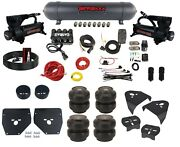 Complete Air Ride Suspension Kit W/slam Ss7 Bags Aluminum Tank For 1973-87 C10