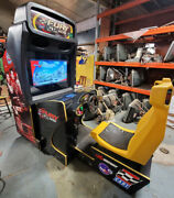 Cart Fury Dlx Arcade Driving Racing Video Game Machine Works Great ---- 32 Lcd