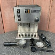 Rancilio Miss Silvia Espresso Machine - Stainless Steel - Tested And Working
