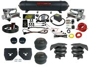 Complete Air Ride Suspension W/level Ride 3 Preset Bluetooth Kit Fits 73-87 C10