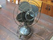 Works Great Vtg 1940and039s Westinghouse 2 Speed 10pa Oscillating Desk Fan Table Top
