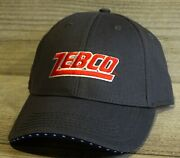 Zebco Fishing Reels Mens Grey Red White And Blue Folds Of Honor Fishing Hat Cap