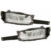 For Lexus Ct200h Fog Light Assembly 2014 2015 2016 Pair Lh And Rh Side Led Type