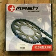 X Anello Chain And Sprocket Kit For Mash Roadstar Fifty 50cc Motorcycle