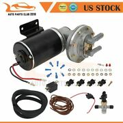 For Brake Booster Systems 12 Volt Electric Vacuum Pump Kit Mounting Hardware