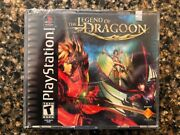 The Legend Of Dragoon Playstation 1 2000 Brand New Factory Sealed Sony Ps1