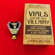Disney Pin Vials Of Villainy Mystery Box Limited Release Maleficent