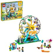 Lego Creator 3in1 Ferris Wheel 31119 Building Toy With 5 Minifigures 1,002 Pcs