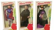 Vintage Disney Store Snow White And The Seven Dwarfs Witch Queen Doll New