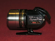 Rare Vintage Ryobi Dynafish 100a Spincasting Reel Looks And Works Great