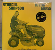 Sturgill Simpson Cuttinandrsquo Grass Vol1 Indie Green And Yellow 2lp Butcher Sessions