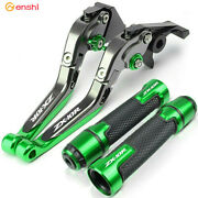 Motorcycle Accessories Brake Clutch Levers Handlebar Grips For Kawasaki Zx-10r