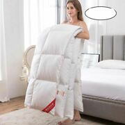Quilt Duvets Hotel Winter Comforters 100 Cotton Cover King Queen Twin Full Size