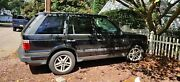 2000 Land Rover Range Rover, Black, Runs Local In Person Only No Shipping