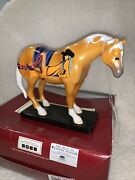 Trail Of Painted Ponies 2e/1039 Blondes Palomino David Devary Horses 12227
