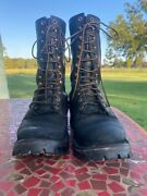 Nicks Boots 11e Black Smooth Over Roughout Medium Arch