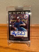 2004 Gary Carter Topps Retired Autograph On Card And Sealed Expos