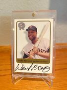 2001 Willie Mccovey Autograph Greats Of The Game Auto Giants
