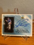 2002 Alex Rodriguez Autograph Ud Ultimate Signatures On Card Auto Rangers Yankee