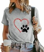 New Love Dogs Mom Paw Heart Dog Lovers Pet Owner T-shirts Sweatshirts Hoodies