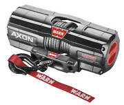 Warn 101240 Axon 4500-rc Winch With Synthetic Rope