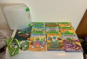 Leapfrog Tag Reading System - 10 Books, Case, Usb, Cd And Pen Tested