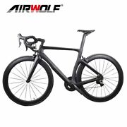 Full Carbon Road Bike Complete Bicycle For Shimano R7000/r8000/r8050 Groupset
