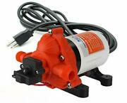 Seaflo 110v 3.3 Gpm 45 Psi Water Diaphragm Pressure Pump With Plug For Wall Ou..