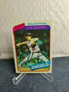 💥 1980 Topps Nolan Ryan 580 - Ready To Be Graded. Mint Condition 💥