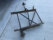 Vintage Cushman Scooter Sidecar Frame / Chassis - Antique Motorcycle Part