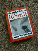 Big Red Book Of American Lutherie Volume 2 1988-1990 Hardcover Gal