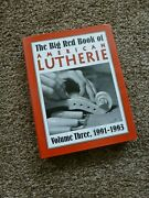 Big Red Book Of American Lutherie Volume 3 1991-1993 Hardcover Gal