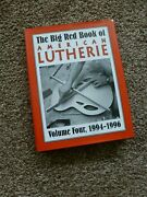 Big Red Book Of American Lutherie Volume 3 1994-1996 Hardcover Gal
