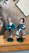 Byers' Choice Boy And Girl Carolers
