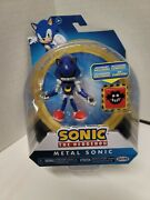 Sonic The Hedgehog Metal Sonic Action Figure W/ Trap Box 3.5 New
