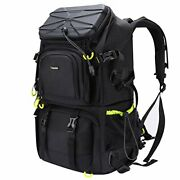 Endurax Extra Large Camera Dslr/slr Backpack For Outdoor Hiking Trekking With 15