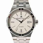 Maurice Lacroix Icon Automatic Ai6008-ss002-130-1 Mens Watches Stainless/bra...