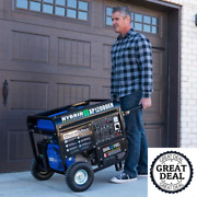 Electric Start Dual Fuel Gas Propane Portable Generator Home Back Up/rv Ready
