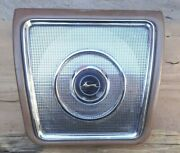 1962 1963 1964 Chevy Impala Rear Seat Speaker Grille Cover / Housing Original Gm