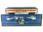 20-80005c Mth New Haven 70and039 Abs Full Length Vista Dome Passenger Car - Smooth