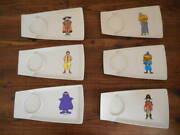 Rare 70s Dead Stock Vintage Mcdonald's Advertising Character Plate Tra