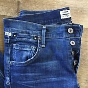 Citizens Of Humanity Emerson Slim Boyfriend Button Fly Stretch Jeans No Tag Nice