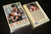 Elvis Collectors Boxset 8 Cd/ 3 Dvd - That's The Way It Was / Is - Brand New