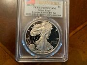 2013 W Silver Eagle Pcgs Pf70 First Strike Limited Edition