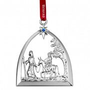 Waterford 2015 Silver Passage To Bethlehem Nativity Ornament New In Box 40009157