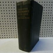 Antique Rare 1890 Exhaustive Concordance Of The Bible By James Strong Vtg