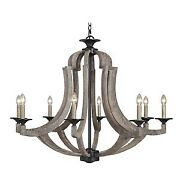 Craftmade Lighting 35128-wp Winton - Eight Light Chandelier - 36 Inches Wide By